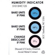 51060HIC125 3M™ Humidity Indicator Card 5-10-60% 3 Spot 125/Can (VSP)
