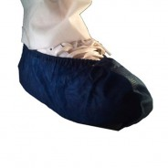 T51478N4-L Epic Shoe Cover Cleanroom Polypropylene Color: Navy Blue Size: Large 400/Case