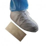 t51658-Epic Shoe|Boot Cover Cleanroom DisposableMicroporous W/ PVC Sole Color: White Universal Size 100/Case-51658