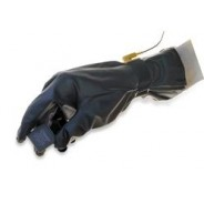 "QRP Poly-Tuff ESD Glove 12""L Black Conductive 1.5mil Urethane Class 100 (ISO 5)"