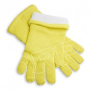 "QRP Dissipative Qualatherm® 14""L Cleanroom Glove Extreme High-Temp Wool -210°F to 1000°F Class 100 (ISO 5) Size: X-Large 1Pair/Bag"