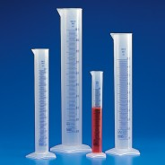 Globe Scientific 602560  Graduated Cylinder, PP, Printed Graduations, 10mL 10/PACK
