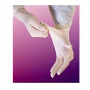 "609BPF-L Biotek® Latex Glove 9"" Powder-Free 6mil Medical Grade Size: Large Color: White"