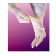 "609BPF-L Biotek® Latex Glove 9"" Powder-Free 6mil Medical Grade Size: Large Color: White"