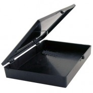 SafeTek Hinged Conductive Plastic Box, 4-5/8 x 3-1/2 x 3/4""
