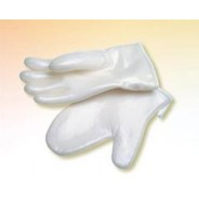 "QRP Dissipative Qualatherm® Poly-Tuff 12""L Cleanroom Glove Extreme 450 Mid-Temperature Silicon Elastomer Class 100 (ISO 5) Size: Large 1Pair/Bag"