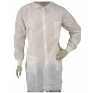 T845884-M Epic Cleanroom Disposable Heavy Weight Lab Coat