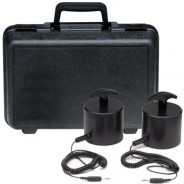 ACL Staticide Weight Kit for ACL380 Surface Resistivity Meter, Includes (2) 5lb Probes, Cords & Carrying Case