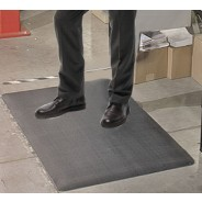 "Transforming Technologies FM236720G ESD-Safe Standard Anti-Fatigue Roll PVC 3'x60'x3/8"" Color: Gray (VSP)"