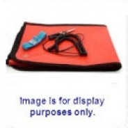 "B1725 Botron Dissipative Field Service Kit  24""x24"" 2-Pocket, W/Wrist Strap Set & Ground Cord Color: Blue"