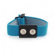 "Botron Wrist Strap Only Blue Dual Conductor 1/8"" (4mm) Snap"