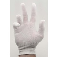 Botron B6831M Inspection Gloves - Lint Free Nylon (10ct)