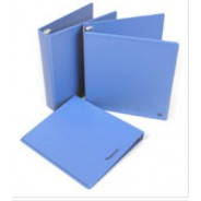"Botron ESD-Safe 3-Ring Binder With 1"" Ring Size Color: Blue"