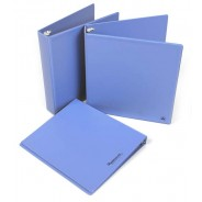 "B7405 Botron ESD-Safe 3-Ring Binder With 1/2"" Ring Size Color: Blue"