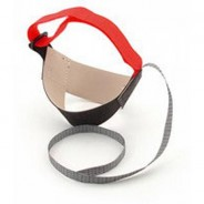 Botron Heel Strap Cup Style Red D-Ring Ergo-One With 1 Meg Resistor