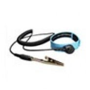 """Botron Wrist Strap Only Blue Plastic Adjustable With 1/8"""" (4mm) Snap"""