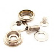 "B9865 Botron Snaps 3/8"" (10mm) Universal Screw-In Set, Includes: Socket, Stud, Washer & Screw Base"