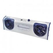 "Transforming Technologies BFN802 Overhead AC Ionizer (2) Fans (1) Task Light 23""W 120V"