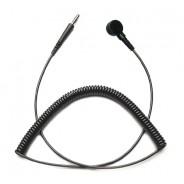 CC0030 Transforming Technologies  Coil Cord Single Wire 6' Black 10mm (VSP)