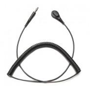 Transforming Technologies CC9000 Series Premium Coil Cord Single Wire 20' Black 4mm (VSP