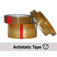 "CL2402 Transforming Technologies Anti-Static 1""x72 Yard Transparent Tape 3"" Core No Print"