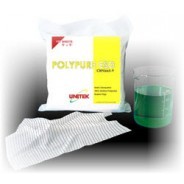 """Unitek Wipe 4""""x4"""" Cleanroom Class 100 Smooth Polycellulose, 45% Polyester/55% Cellulose Fibers Color: Blue 1200/Pack"""