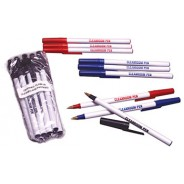 Clean-Write Pen Ball Point Cleanroom Low Sodium Contamination Color: Red 10/Pack 10packs/Case