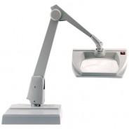 MR100-ES-DG Dazor ESD-Safe Illuminated Magnifier MR100-ES 3-Diopter Weighted Base 8MR Series Color: Dove Grey (VSP)