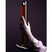 "DuraShield Nitrile Glove Cleanroom 12"" Powder Free 5mil Textured Finger Tip"