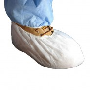 Epic 51488-3 Cleanroom Disposable Polypropylene Shoe Cover White Size: Large 300/Case (VSP)