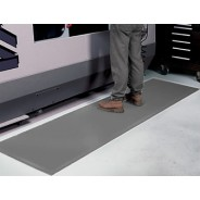 "Transforming Technologies FM136720G ESD-Safe Anti-Fatigue Roll Vinyl/Nitrile 3'x60'x3/8"" Color: Gray (VSP)"