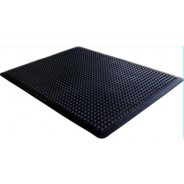 "FM53X4 Transforming Technologies Comfort DomeTM ESD Conductive Anti-Fatigue Rubber Floor Mat- 0.50"" x 3' x 4' Color: Black"