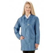 "Tech Wear EconoShield ESD-Safe 34""L Coat ECX-500 Color: Royal Blue Size: 5X-Large"