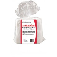 "ACL Staticide LF50 Heavy Duty 12""x13"" Lint Free Wipes, Polyester Cellulose"