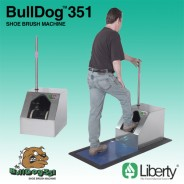 Liberty Industries 351 Bull Dog Motorized Shoe Cleaner 115V (VSP)
