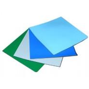 "Transforming Technologies MT2460 2-Layer Rubber Mattop 24""x60""x.080  Color: Nasa Blue"