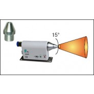 Transforming Technologies N0010 Ptec™ Standard Output Nozzle Tip for IN3425 Ionizing Air Nozzle Standard 15-Degree Tip (VSP)