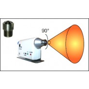 "Transforming Technologies N0050-20 Ptec™ Flexible Output Nozzle Tip for IN3425 Ionizing Air Nozzle Standard Bendable 15-Degree 20"" Tip (VSP)"