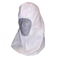 Ultraguard Ninja Hood APP0120-NINJA-W Cleanroom Polypropylene Elastic Face Shoulder Length Advantage