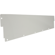 QS-01263-3072 IAC Industries Quick Ship Packaging Accessory Stations (PAS) Upper Shelf Backsplash 12HX72L