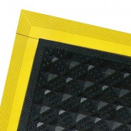 "pv3110-Transforming Technologies Side Edge Ramp 4""x20"" for the PV3000 Series Tile Female Color: Yellow"