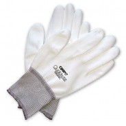 QRP Qualakote® ESD Economy Nylon Inspection/Assembly Gloves Polyurethane Palm Coated Size: Medium 12Pair/Pak