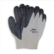 QRP Qualakote® ESD Low Heat (Up To 200°F) Wave Solder Glove White Trim Nitrile Palm Coated Size: Small 12Pair/Pak