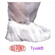 Shoe Cover - PVC Sole- Large - White (Case/100)