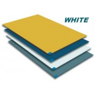 Markel TT2-2645W Trim Tack Sticky Mat 30 SheetsMat 4 Mats per Case Color White