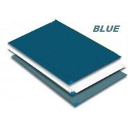 Markel TT2-2445B Trim Tack Sticky Mat 30 SheetsMat 4 MatsCase Color Blue