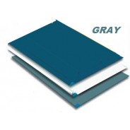 Markel TT2-2445G Trim Tack Sticky Mat 30 SheetsMat 4 MatsCase Color Gray