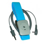 Transforming Technologies WB0070 Wrist Strap Only Dual Conductor Adjustable Turquoise Fabric