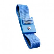 Transforming Technologies WB0016  Wrist Strap Only Adjustable 4mm Blue Fabric