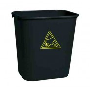 WBAS 28 Transforming Technologies ESD Safe Waste Basket: 28 Quart (7.4 gallon )